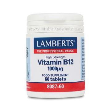 Vitamina B12 1.000 mcg. 60 comprimidos