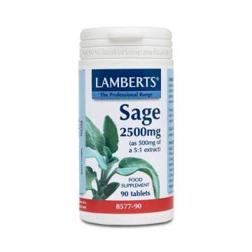Salvia 2500mg. 90 comprimidos