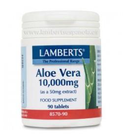 Aloe vera 10.000mg. 90 comprimidos