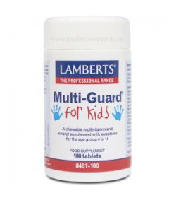 Multi-Guard for kids -Playfair 100 comprimidos masticables