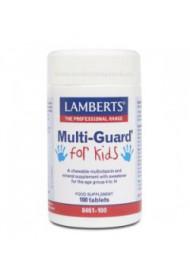 Multi-Guard for kids -Playfair 100 comprimidos masticables