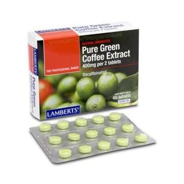 Extracto de Café verde puro 60 comprimidos