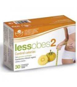 Lessobes 2 Control calorias 30 comprimidos