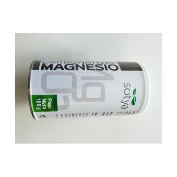 Carbonato de Magnesio bote 180gr.