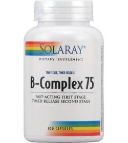 B complex Accion Retardada 75 mg. 100 cápsulas