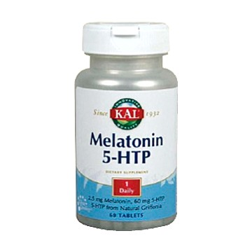 Melatonin 1,9mg+5-HTP Acción retardada 60 comprimidos