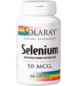Selenium 50mcg. 100 cápsulas