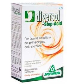 Digersol 20 comprimidos masticables