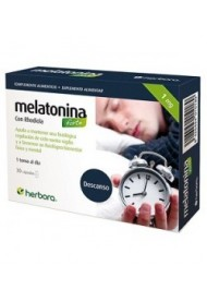 Melatonina forte con rhodiola 1mg. 30 cápsulas