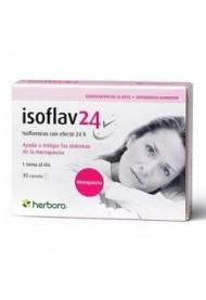 Isoflav 24 30 cápsulas