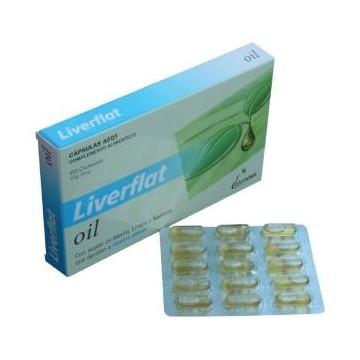 Liverflat-oil 60 cápsulas.
