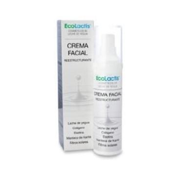 Crema facial reestructurante leche de yegua 50ml.