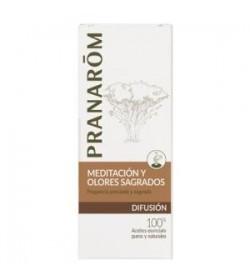 Meditacion y olores sagrados mezcla aceites 30ml.