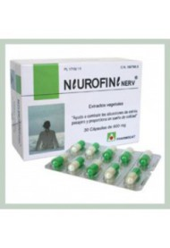Neurofine -Minerales -Extracto de veg. 30 cápsulas