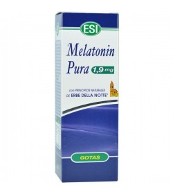 Melatonin pura con erbe notte 1,9mg. 50ml.